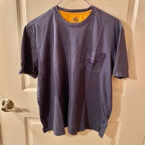 Tommy Bahama Relax Short Sleeve Blue T-Shirt Sz L